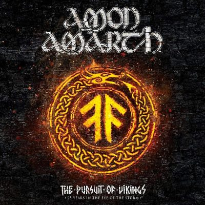 AMON AMARTH - The Pursuit Of Vikings: 25 Years In The Eye Of The Storm